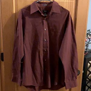 Men's VanHeusen Long Sleeved Shirt Size M 15-15.5